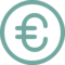 Coin Currency Euro Price Financial