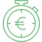 Chronometer Stopwatch Money Euro