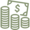 Money Payment Dollars Coins Cash