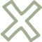Delete Hand Drawn Cross Symbol Outline