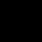 Fingerprint Outline With Blood Droplet