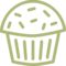 Pastry Cup Cake New Year Sweet Dessert