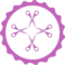 Four Scissors In A Badge