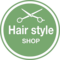 Hair Style Salon Circular Badge