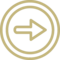 Right Arrow In Double Circle Outline